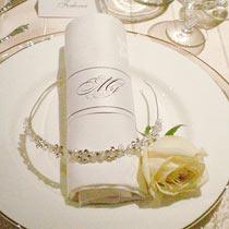 serviettring bryllup